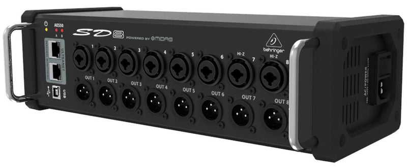 Behringer SD8 8-Channel Cat 5 Digital Stage Box - PSSL ProSound and Stage Lighting