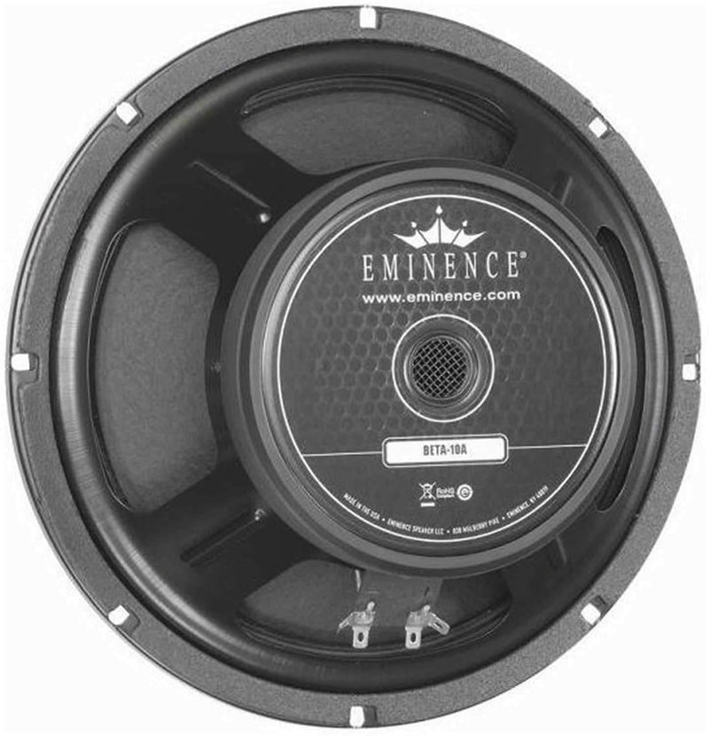 Eminence BETA10A 10In Rawframe Speaker - ProSound and Stage Lighting