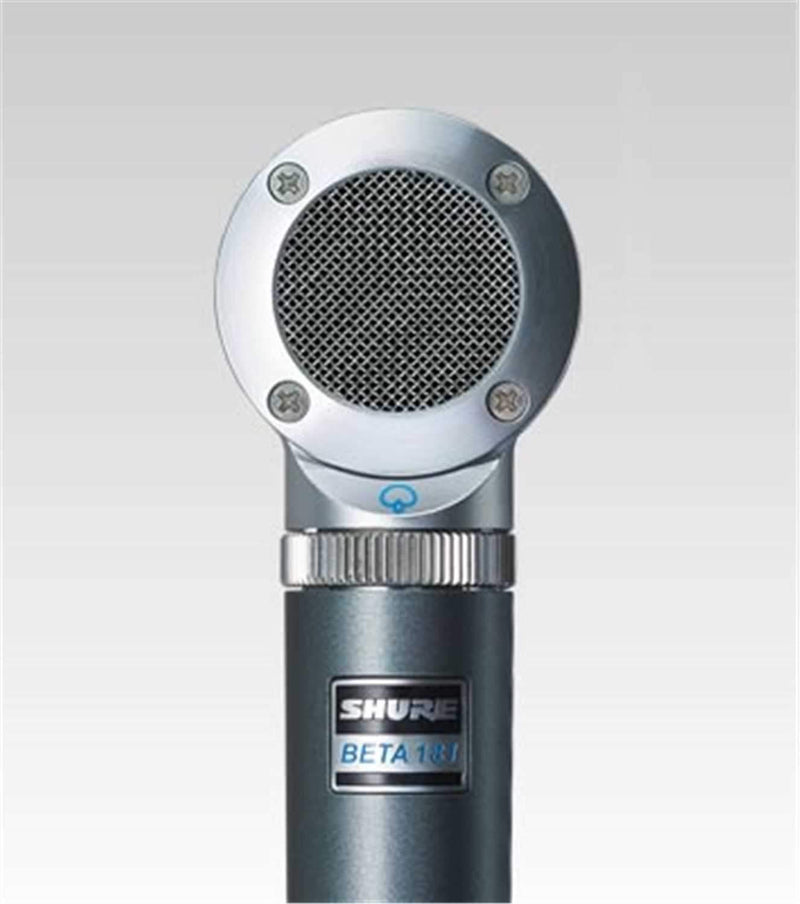 Shure BETA181S Instrument Mic with Spr Cardioid Capsl - ProSound and Stage Lighting