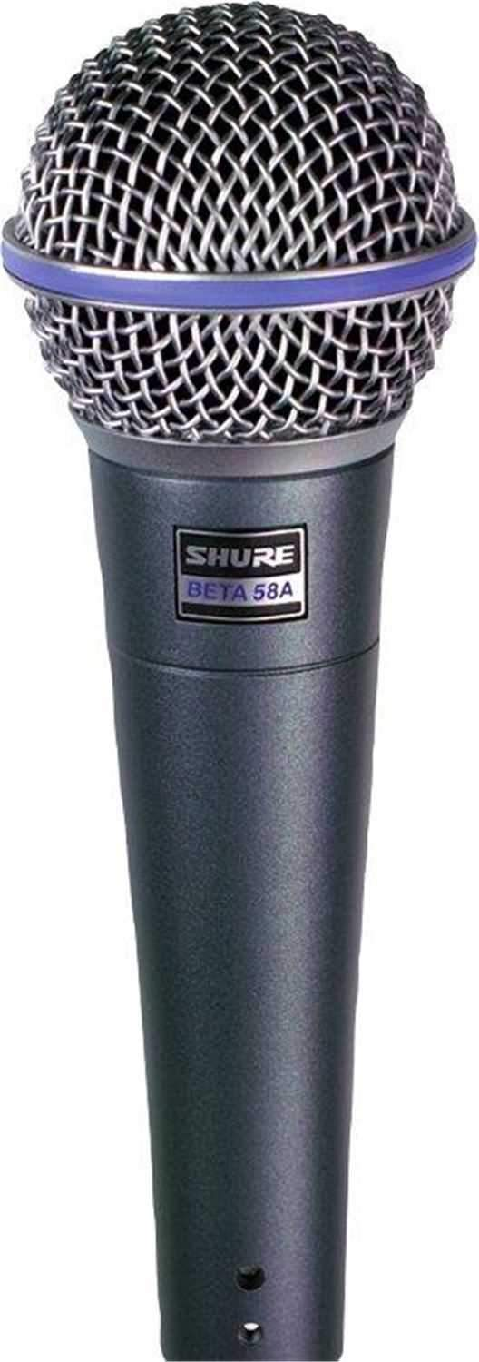 Shure BETA 58A Dynamic Vocal Microphone - PSSL ProSound and Stage Lighting