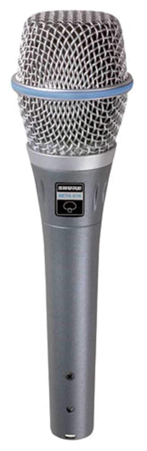 Shure BETA-87A Supercardioid Condenser Microphone - PSSL ProSound and Stage Lighting