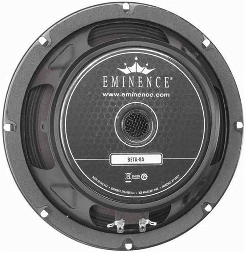 Eminence BETA8A 8In Rawframe Speaker - PSSL ProSound and Stage Lighting