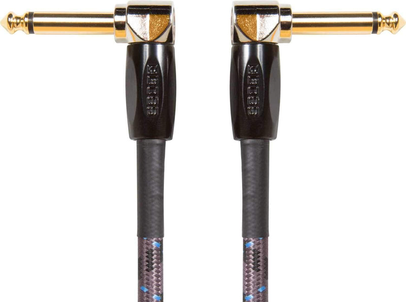 Boss BIC-PC 6 inch Instrument Cable Angled 1/4-Inch - ProSound and Stage Lighting