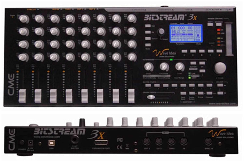 CME BITSTREAM-3X Super Midi Controller - PSSL ProSound and Stage Lighting
