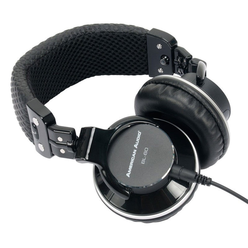 American Audio BL-60 Pro Headphones - PSSL ProSound and Stage Lighting