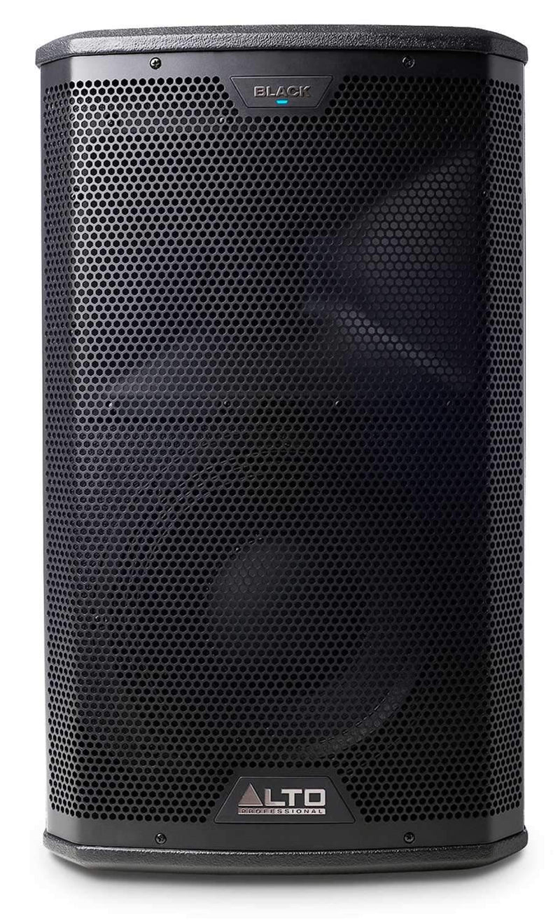 Alto Black 10 in 2 Way Powered PA Speaker 2400W - PSSL ProSound and Stage Lighting