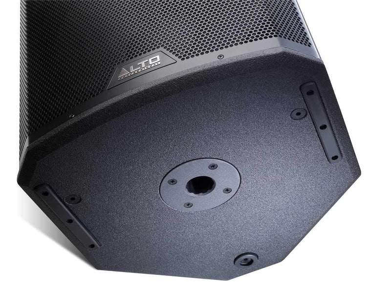 Alto Black 12-Inch 2-Way Powered Speaker 2400W - PSSL ProSound and Stage Lighting