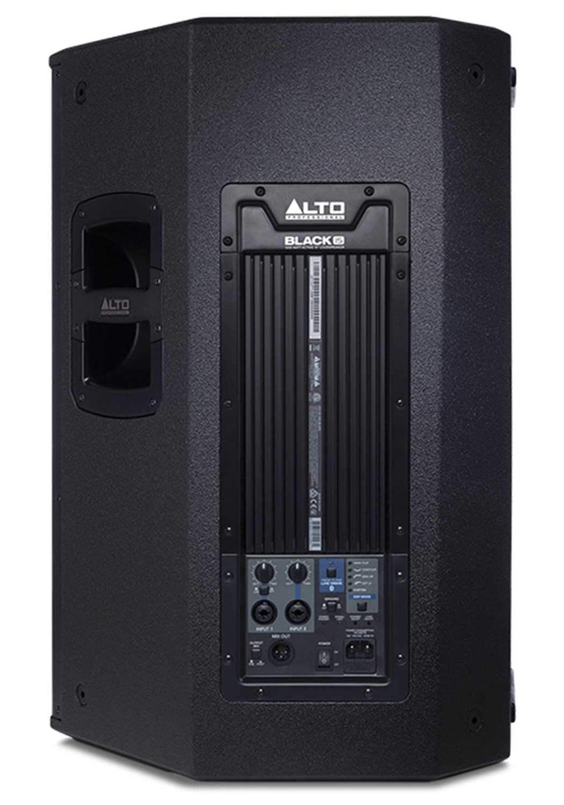 Alto Black 15 Powered 15-Inch PA Speaker 2400W - PSSL ProSound and Stage Lighting