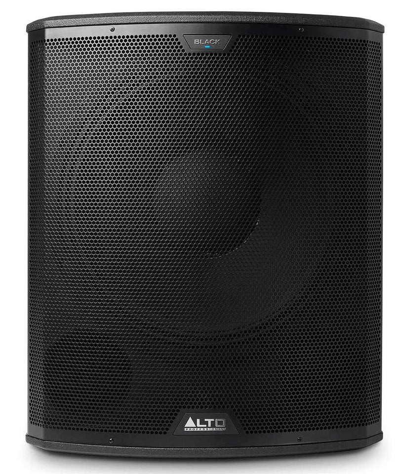 Alto Black 18S 18 in Powered Subwoofer 2400W - PSSL ProSound and Stage Lighting