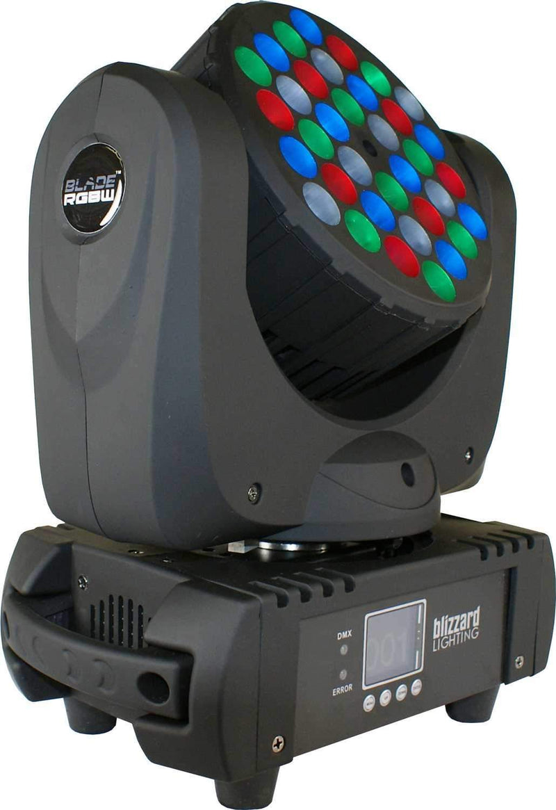 Blizzard Blade RGBW 36x5-Watt LED Wash Moving Head Light - PSSL ProSound and Stage Lighting