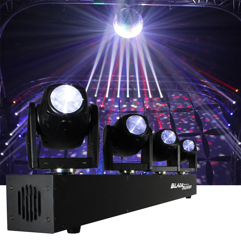 Blizzard BladeRunner White 4x Moving LED Lights - PSSL ProSound and Stage Lighting