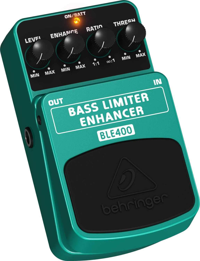 Behringer Bass Limiter Enhancer Effects Pedal - ProSound and Stage Lighting