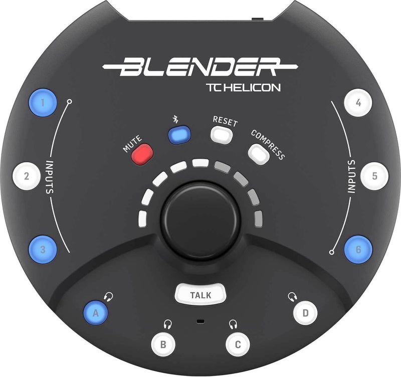TC Helicon Blender 12x8 Stereo Mixer with USB - PSSL ProSound and Stage Lighting