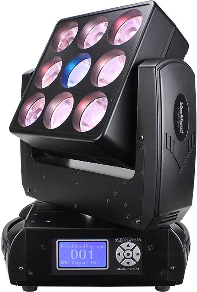 Blizzard BlockHead Z9 LED 9x15w RGBW Moving Head - PSSL ProSound and Stage Lighting