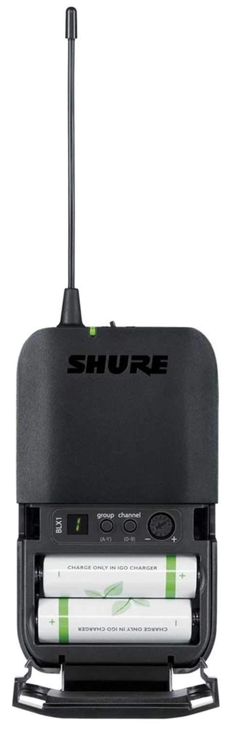 Shure BLX14RW93 Wireless Lavalier Syst with Wl93 H10 - PSSL ProSound and Stage Lighting