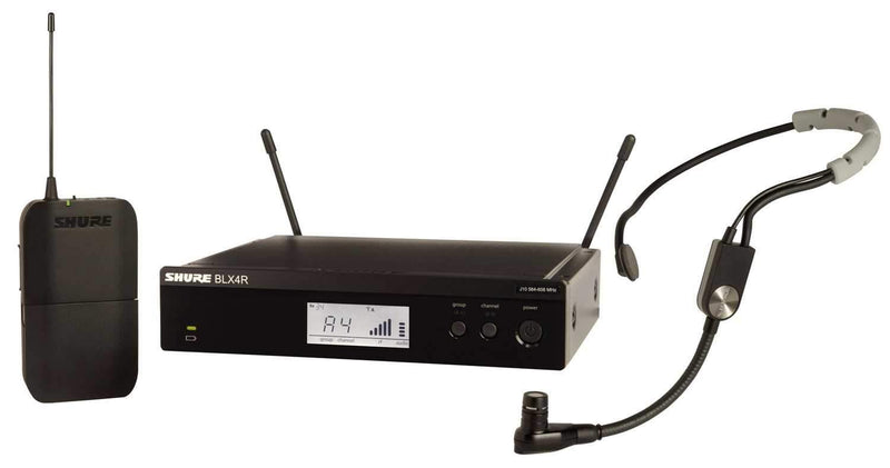 Shure BLX14R/SM35 Wireless Headset Mic System with SM35 - PSSL ProSound and Stage Lighting