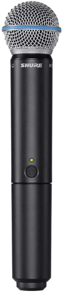 Shure BLX2 Beta58 Wireless Handheld Transmitter H10 - PSSL ProSound and Stage Lighting