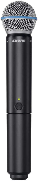 Shure BLX2/B58 Beta 58 Wireless Handheld Transmitter - PSSL ProSound and Stage Lighting