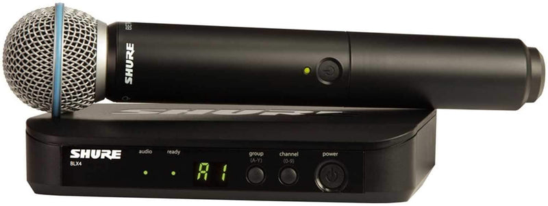 Shure BLX24 Wireless Handheld Mic Sys w Beta58 H9 - PSSL ProSound and Stage Lighting