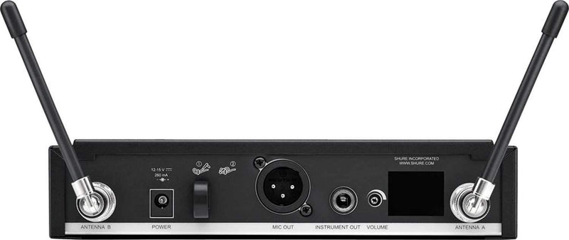 Shure BLX24RB58 Wireless Rackmount Handheld Mic with Beta58 H10 - PSSL ProSound and Stage Lighting