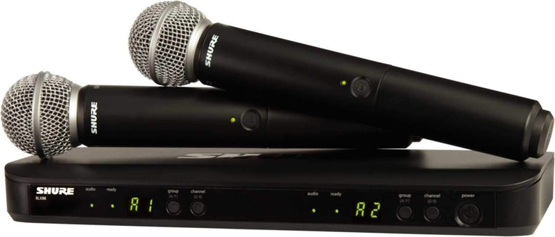 Shure BLX288/SM58 Dual SM58 Wireless Vocal System - PSSL ProSound and Stage Lighting