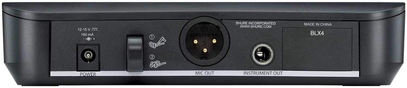 Shure BLX4 Wireless Receiver - PSSL ProSound and Stage Lighting