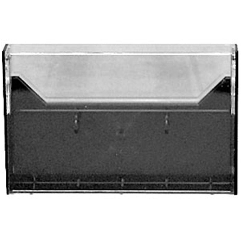 Black/Clear Plastic Norelco Sytle Cassette Case - PSSL ProSound and Stage Lighting