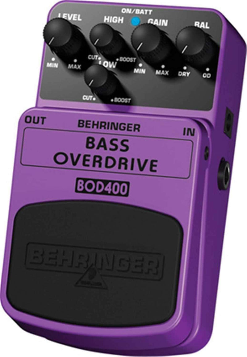 Behringer BOD400 Tube Overdrive Effects Pedal - PSSL ProSound and Stage Lighting