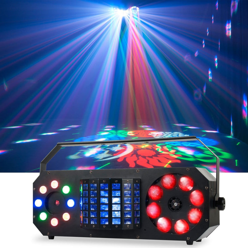 ADJ American DJ Boom Box FX2 4-in-1 LED Effect Light - PSSL ProSound and Stage Lighting