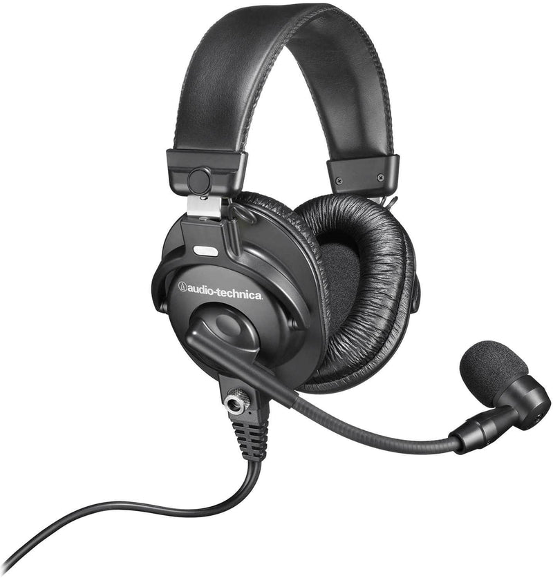 Audio Technica Communications Headset with Boom Mic - ProSound and Stage Lighting