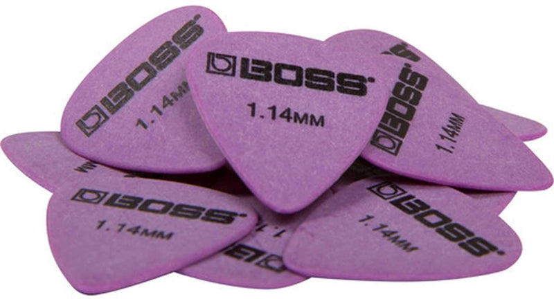 Boss BPK-72-D114 Delrin Guitar Picks 72 Pack - PSSL ProSound and Stage Lighting