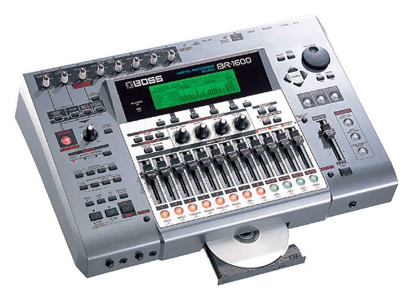 Boss BR-1600CD Digital Recording Studio - PSSL ProSound and Stage Lighting