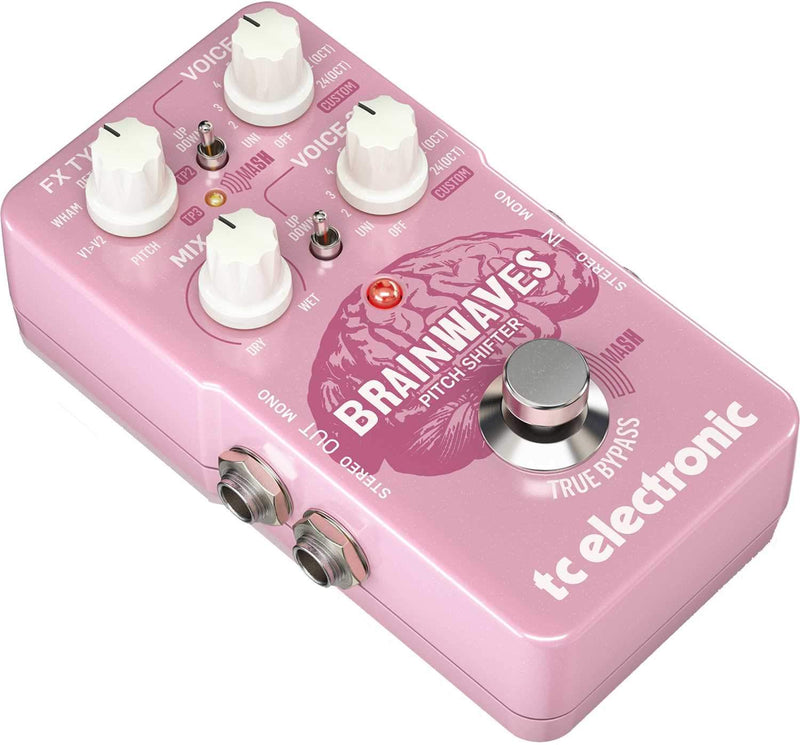 TC Electronic Brandwaves Pitch Shifter Guitar Pedal - PSSL ProSound and Stage Lighting