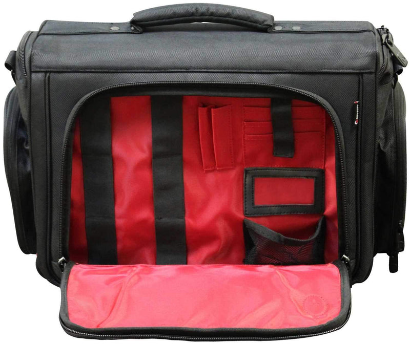 Odyssey BRL17C Redline Elite Pro Courier DJ Bag - PSSL ProSound and Stage Lighting