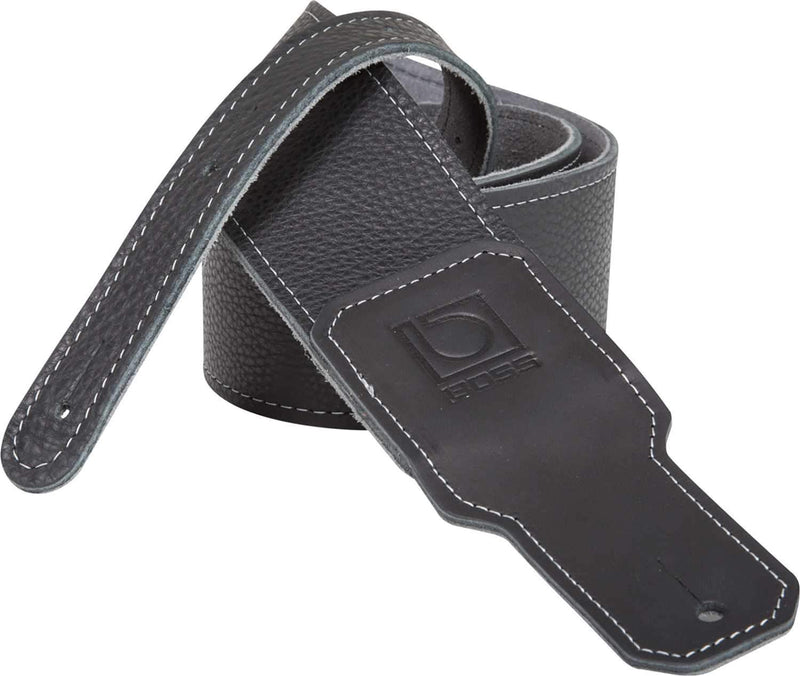 Boss BSL-25-BLK Black Premium Leather Guitar Strap - PSSL ProSound and Stage Lighting