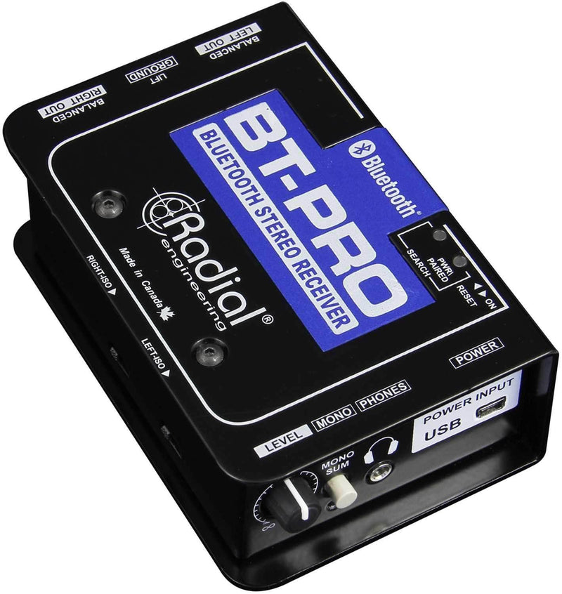 Radial BT-Pro BlueTooth Wireless Receiver - PSSL ProSound and Stage Lighting