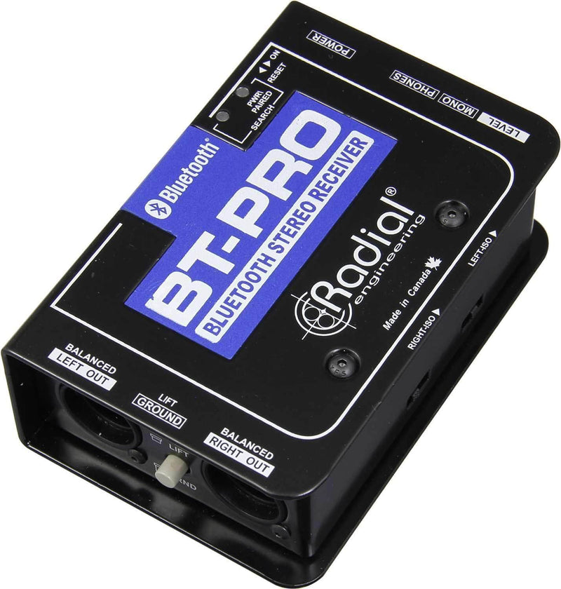 Radial BT-Pro BlueTooth Wireless Receiver - ProSound and Stage Lighting
