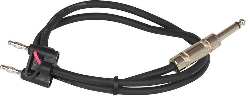VocoPro BTP-3 3 Ft 1/4 to Banana Speaker Cable - PSSL ProSound and Stage Lighting