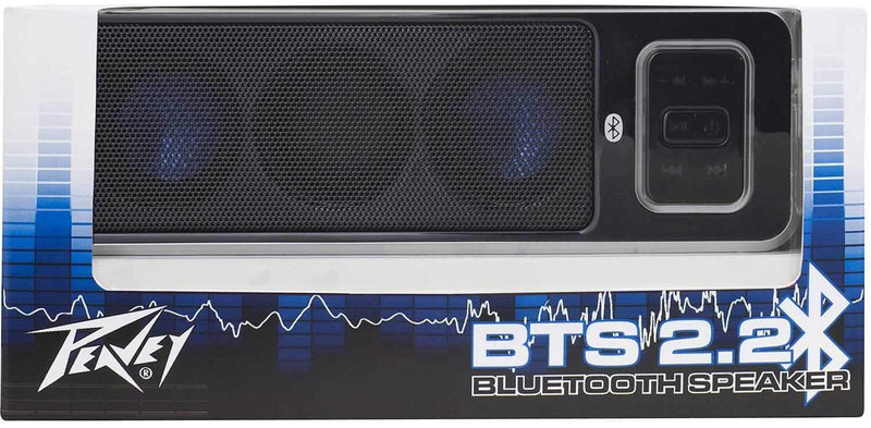 Peavey BTS 2.2 Black Wireless Bluetooth Speaker - PSSL ProSound and Stage Lighting