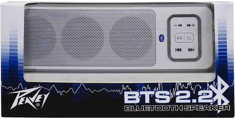 Peavey BTS 2.2 White Wireless Bluetooth Speaker - PSSL ProSound and Stage Lighting