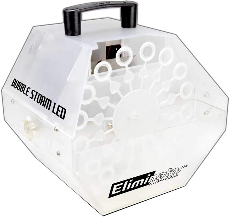 Eliminator Bubble Storm LED Clear Bubble Machine - PSSL ProSound and Stage Lighting