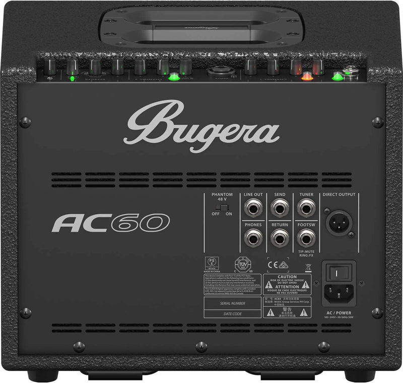Bugera AC60 60-Watt 2-Channel Acoustic Instrument Amp - PSSL ProSound and Stage Lighting