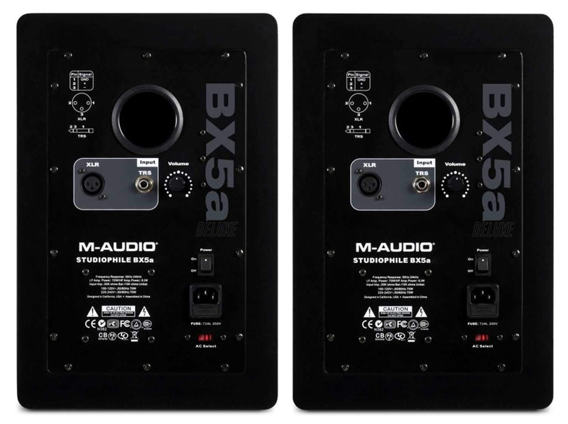 M-Audio BX5A-D 70W Active Studio Monitors (Pair) - PSSL ProSound and Stage Lighting