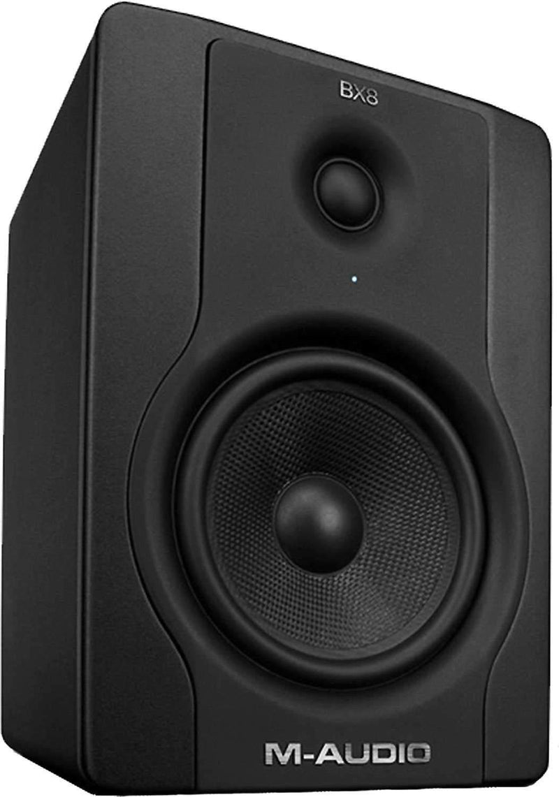 M-Audio BX8 D2 8-Inch Powered Studio Monitor (EA) - PSSL ProSound and Stage Lighting