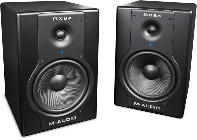 M-Audio BX8A-D 130W Active Studio Monitors (Pair) - PSSL ProSound and Stage Lighting
