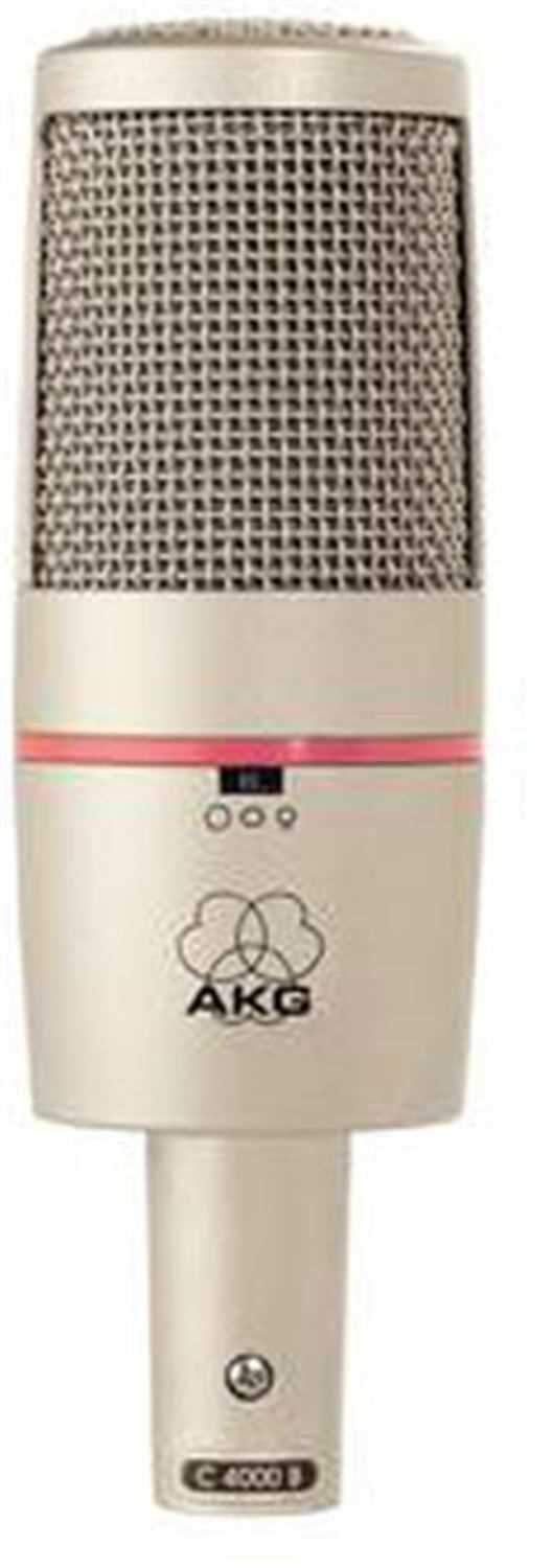 AKG C4000B 3-Pattern Condenser Microphone - PSSL ProSound and Stage Lighting