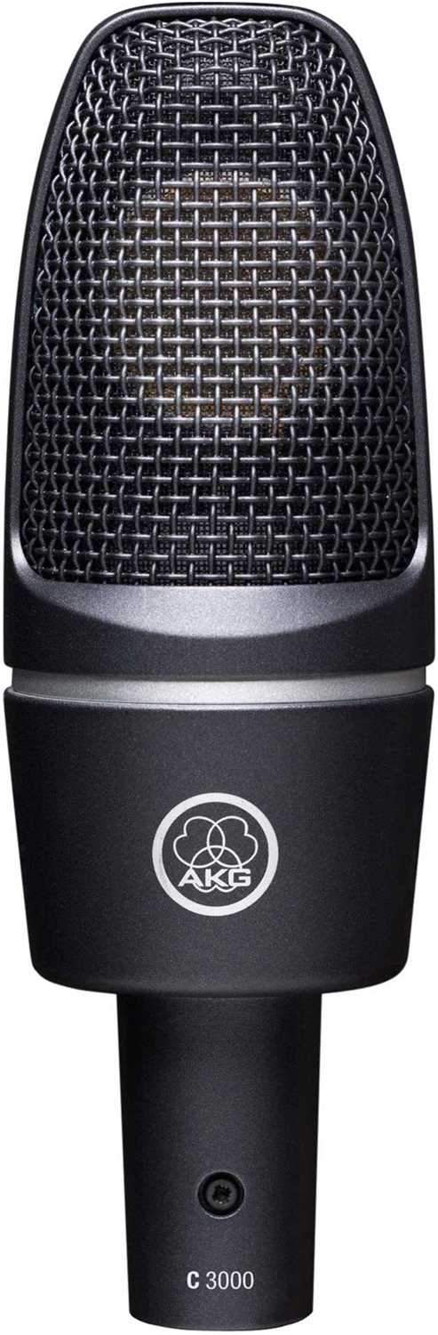 AKG C3000 Large Diaphragm Side Address Microphone - PSSL ProSound and Stage Lighting