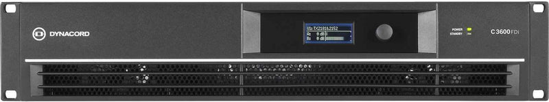 DYNACORD C3600FDI 1800w Powered Amplifier - PSSL ProSound and Stage Lighting
