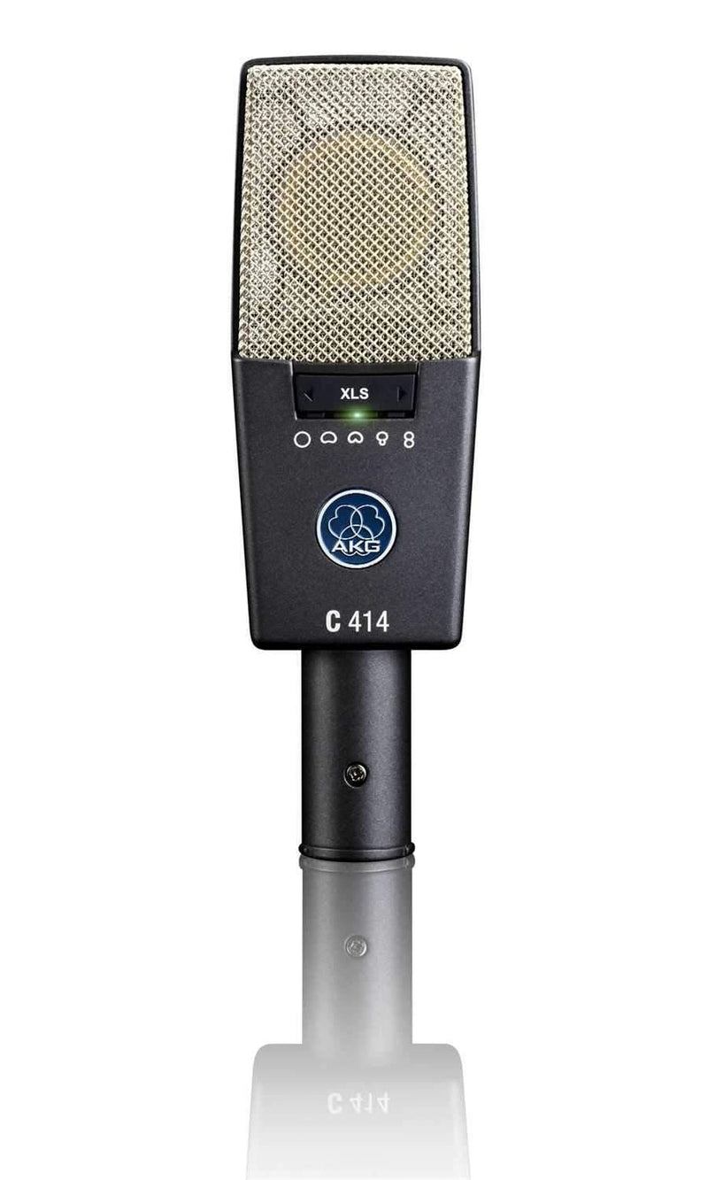 AKG C414 XLS 9 Pattern Condenser Microphone - PSSL ProSound and Stage Lighting