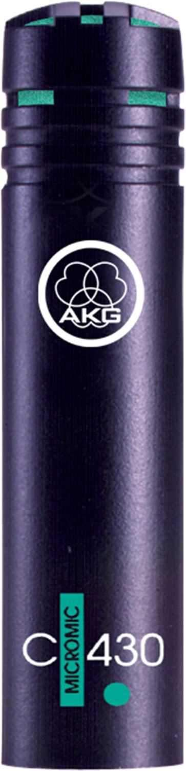 AKG C430 Compact Drum Or Instrument Microphone - PSSL ProSound and Stage Lighting